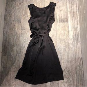 J. Crew Silk Shift Dress with Tie Belt